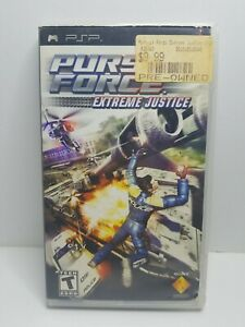 Pursuit Force: Extreme Justice PSP Sony PSP