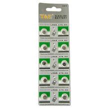 10 x 379 Battery Alkaline 1.55v LR69 G0 AG0 SR521 SR63 LR521 D379 RW327 SR521SW
