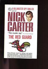 THE RED GUARD  - Nick Carter # 28,    AWARD  1st US SB VG