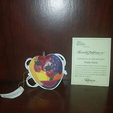 Just The Right Shoe Fruity Purse Jtrs 25321 2000 Retired Raine