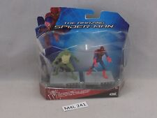 The AMAZING SPIDER-MAN series 1 SPIDER-MAN & LIZARD 2 pack NIB 2.5in (M4L 241)