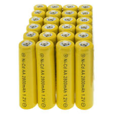 24 AA Rechargeable Batteries NiCd 2800mAh 1.2v Solar NICD Light Lamp
