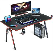DESINO Gaming Desk 47 inch PC Computer Desk, Home Office Desk Table Gamer Workst