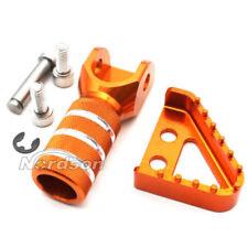 Rear Brake Pedal Step Plate Tip &Gear Shifter Shift Lever For KTM 125-530 Orange