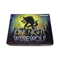 One Night Ultimate Werewolf 2016 Bezier Games 100% Complete in Original Box MINT