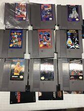 NES Lot MegaMan2,3BugertimeWrestlelot