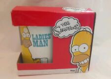 THE SIMPSONS MUG HOMER 'LADIES' MAN' 2013 NEW AND BOXED AWESOME FUNNY CUP BNIB