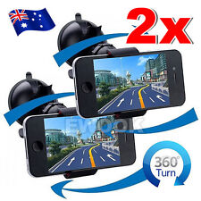 2 X Universal Car Holder Mount Cradle 360 for iPhone 6 6S 7 Plus Galaxy S8 Plus