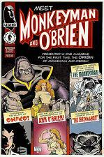 Monkeyman & O'Brien Special (Dark Horse 1996, vf+ 8.5) Art Adams script & art