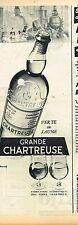 E- Publicité Advertising 1955 Liqueur Grande Chartreuse