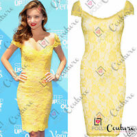 Women Celeb Style Sexy Lace Bodycon Cocktail Wedding Bridesmaid Prom Party Dress