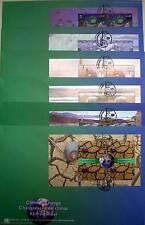 ONU vienne - 2008 changement climatique de markenheft 13 sur 6 grands FDC ersttags lettres
