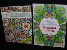 CREATIVE COLORING FOR GROWN-UPS BEAUTIFUL PATTERNS & FREE COLOR PENCILS (10ct)
