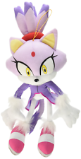"Ships Next Day GE Great Eastern Sonic The Hedgehog 14"" Blaze the Cat Plush Doll"