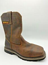 CAT Caterpillar Men's P90439 Wellston Steel Toe Brown Footwear Work Boots Size12