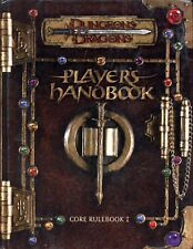 D&D PLAYERS HANDBOOK CORE RULEBOOK 1 VGC! TSR Dungeons & Dragons AD&D