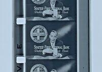 Advertising 16mm Film Reel- Seattle First National Bank (SB47)