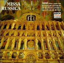 Boy Choir of the Holy Synod : 1000 Years of Russian Liturgy CD