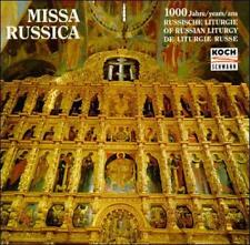 Boy Choir of the Holy Synod 1000 Years of Russian Liturgy CD