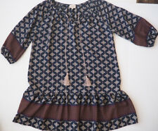 Anthropologie Aztec Swing Dress By Vanessa Virginia - Large