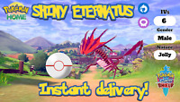 ✨SHINY✨ ETERNATUS 6IV pokemon sword and shield mythical legendary FAST DELIVERY