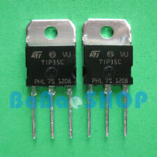5pcs TIP35C Silicon High Power NPN Transistor ST TO-218