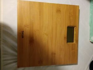 Taylor Precision Products Bamboo Electronic Scale real wood scale