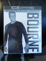 Jason Bourne Ultimate Collection 5 Movie Set 4K UHD/Blu-Ray/Digital HD Sealed