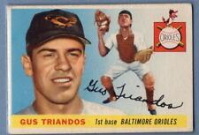 1955 Topps #64 Gus Triandos (R) VG-EX  GO103