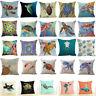"""18"""" Sea Turtle Cotton Linen Cushion Cover Throw Pillow Case Home Decor"""