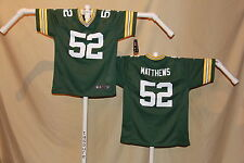 CLAY MATTHEWS Green Bay Packers NIKE Game JERSEY Youth Large  NWT $70 retail  gr