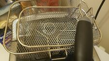 Farberware Home Electric Deep Fryer Countertop 4 L FAT Oil Stainless Steel Fries