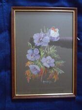Anne B Gill Meadow Cranesbill flower orange tip butterfly picture