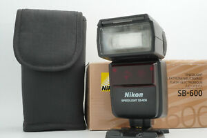 [N.Mint in box] Nikon SB-600 Speedlight Shoe Mount Flash Boxed from Japan #824