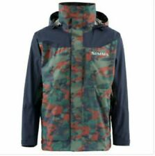 NEW SIMMS M's CHALLENGER JACKET Hex Flo Camo Rusty Red LARGE