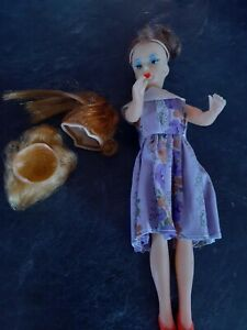 VTG 50-60s BARBIE CLONE Bild Lilli DOLL Japan SWEET! COMES WITH SHOES  And MORE