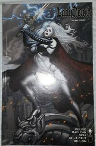 LADY DEATH - NIGHTMARE SYMPHONY #1 HARDCOVER - KICKSTARTER (COFFIN)