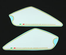 DUCATI MONSTER 696 796 1100 EVO numeri campi Set Bianco/Oro