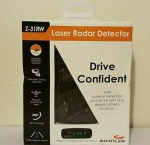 Brand New in Box Whistler Z-31RW Premium Laser Radar Dectector NEW SEALED