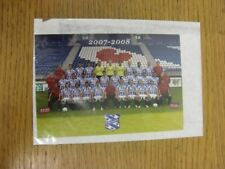 2007/2008 Heerenveen: Team Group Picture Card, Colour/Glossy, Postcard Size. Any