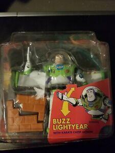 Disney Toy Story Buzz Lightyear Karate Chop Action Figure 1995 Thinkway