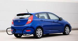 Pair Reflector Rear Bumper Lamp Lights Marker or Hyundai Accent Hatchback 2012