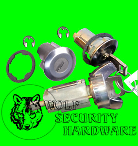 Ford F Series Others Ignition & Door Lock Key Cylinder Tumbler Barrel Set 2 Keys