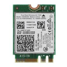 7265NGW AC M2/NGFF Dual Band 867M Wireless WiFi Card BT 4.0 Adapter For ThinkPad