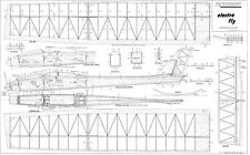 PRECEDENT ELECTRA FLY PLANS R/C GLIDER