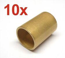 Sinterbronze//INOX-Rücken ..*NEU* * 1 Stück Vielschicht-Gleitlager 10x12x10mm ..
