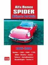 Alfa Romeo Spider Ultimate Portfolio 1966-1994: Spider. 1300. 1600. 1750. 2000.