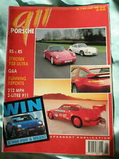 911 & Porsche World May/Jun 1992 No 9 Strosek 928, 911 RS vs 1991 RS