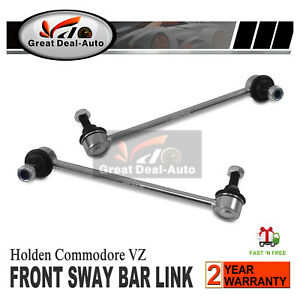 Pair Front Sway Bar Link Pin Kit for Holden Commodore VZ Calais Statesmen WL