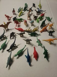 Lot of 44 Playmate Prehistoric Animals Realistic Action Figures